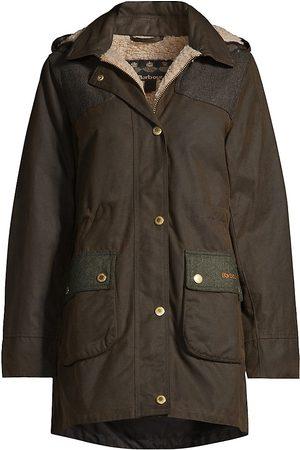 Barbour Keiss Hooded Wax Raincoat