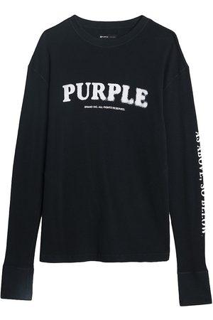 Purple Brand As Above Long-Sleeve Shirt