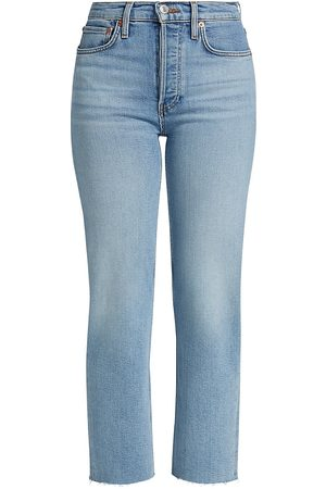 RE/DONE Mid-Rise Straight-Fit Jeans