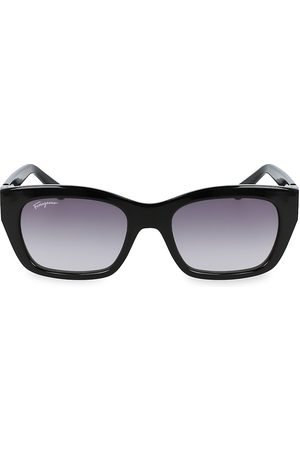 Salvatore Ferragamo Gancini 53MM Square Sunglasses