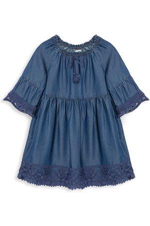 Peek & Beau Little Girl's & Girl's Chambray Dress