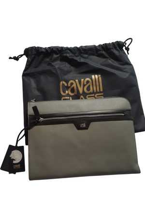 Cavalli Class Leather small bag