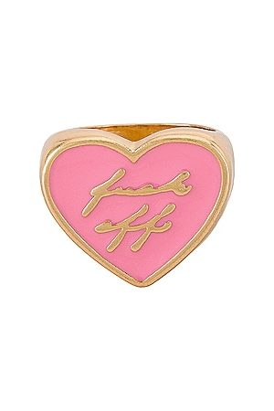 8 Other Reasons Gold Heart Ring With Resin Fuck Off in .