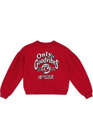 Dolce & Gabbana Only Good Vibes cotton sweatshirt