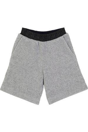 Fendi Wool-blend teddy shorts
