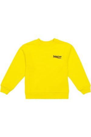 Balenciaga Logo cotton knit sweater