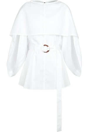 J.W.Anderson Belted cotton minidress