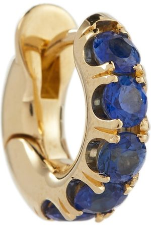 SPINELLI KILCOLLIN Exclusive to Mytheresa – Mini Macro Hoop 18kt gold single earring with sapphires