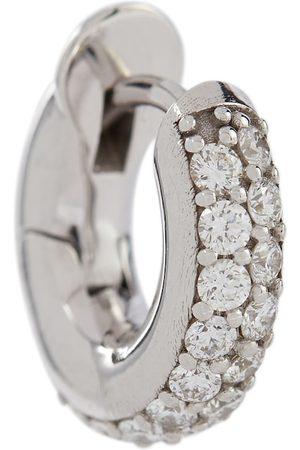 SPINELLI KILCOLLIN Mini Macro Hoop 18kt gold single earring with diamonds