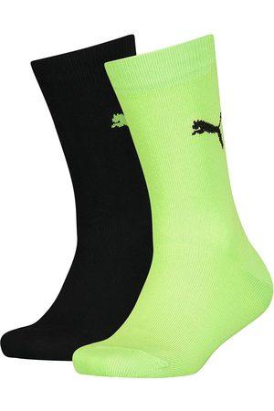PUMA Easy Rider Junior Socks 2 Pairs EU 31-34 Green Flash Combo