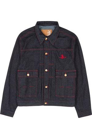 Vivienne Westwood Men Denim Jackets - Marlene indigo denim jacket