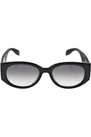 Alexander McQueen Round Acetate Sunglasses
