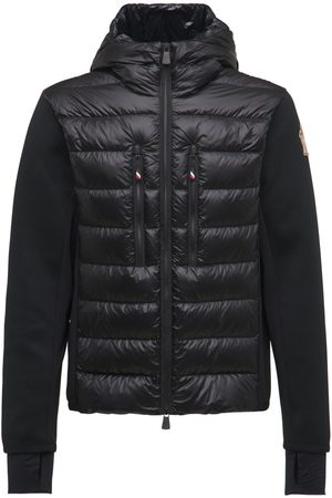 MONCLER GRENOBLE Cardigan Tricot Down Jacket