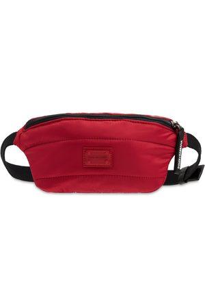 Dolce & Gabbana Logo Patch Tech Belt Bag