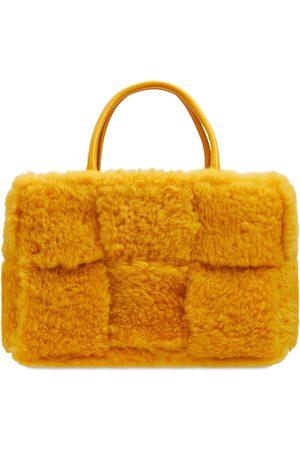BOTTEGA VENETA Women Tote Bags - Arco Intreccio Nappa Leather Tote Bag