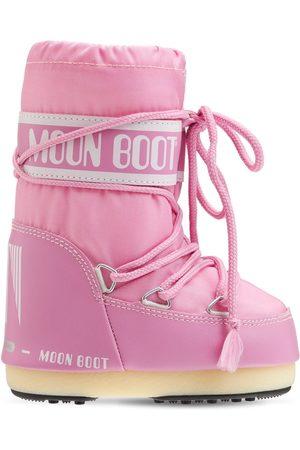 Moon Boot Girls Snow Boots - Nylon Snow Boots