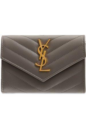Saint Laurent Women Wallets - Leather Envelope Wallet