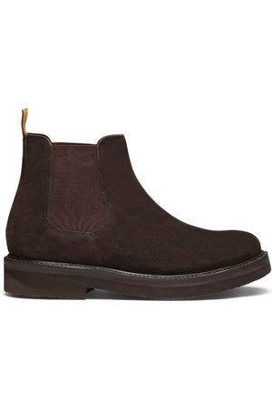 Grenson Colin Suede Chelsea Boots - Mens