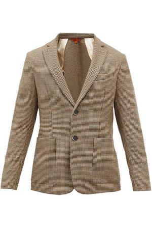 Barena Venezia Borgo Zatara Houndstooth-wool Jacket - Mens - Multi