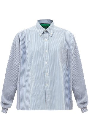 Colville Patch-pocket Striped Cotton-poplin Shirt - Womens - Stripe