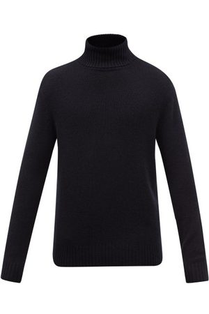 Allude Marled-cashmere Roll-neck Sweater - Mens