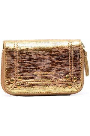 Jérôme Dreyfuss Women Wallets - Lamé zipped purse