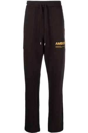 AMBUSH Men Sweatpants - FLEECE WORKSHOP PANTS CHOCOLATE TORTE SO