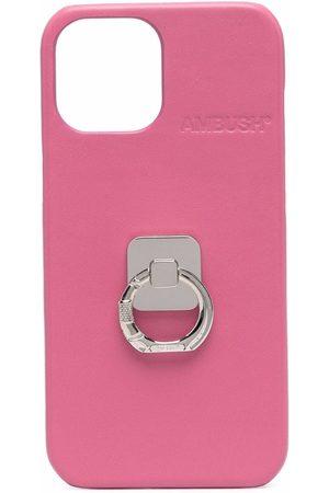 AMBUSH Phones Cases - IPHONE 12 PROMAX CASE B RING SHOCKING P