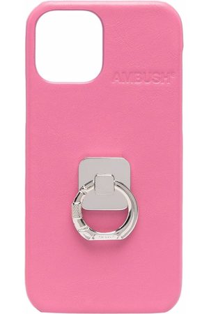 AMBUSH Phones Cases - IPHONE 12/12 PRO CASE B RING SHOCKING PI
