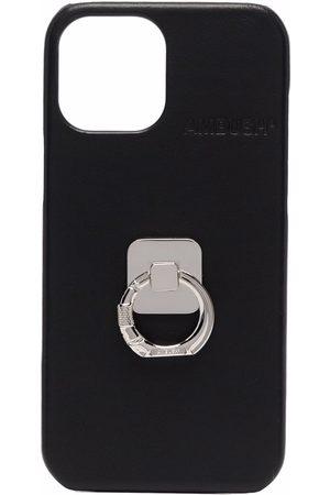 AMBUSH Phones Cases - IPHONE 12 PROMAX CASE B RING BLAC