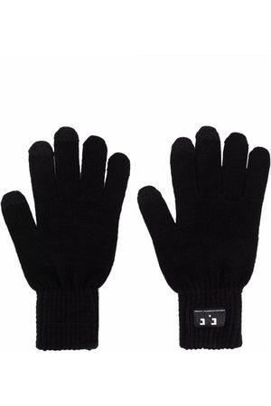 Diesel Men Gloves - Logo patch gloves
