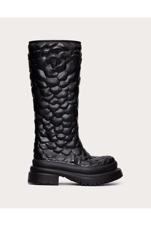 VALENTINO GARAVANI Women Boots - Atelier Shoes 03 Rose Edition Rubber Boot 50 Mm Women 100% Policloruro Di Vinile (pvc) 35