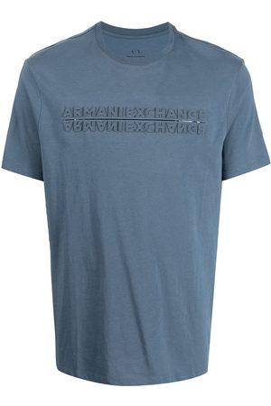 Armani Men Short Sleeve - Short-sleeve logo t-shirt