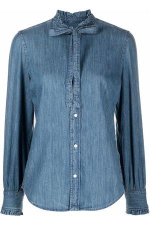 Polo Ralph Lauren Women Denim - Bow-fastening denim shirt