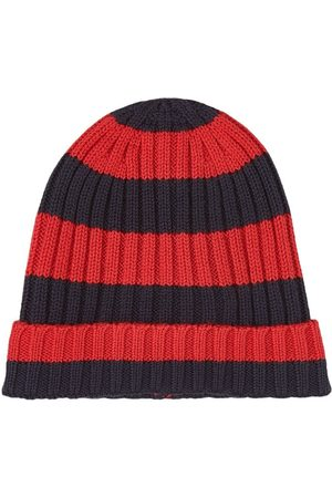 Jacadi Striped Beanie Red - 47 (9 months) - - Baby beanies