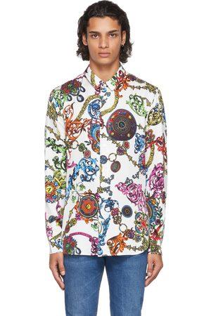 Versace Jeans Couture White Regalia Baroque Shirt