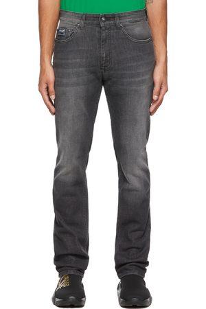 Versace Jeans Couture Black V-Emblem Jeans