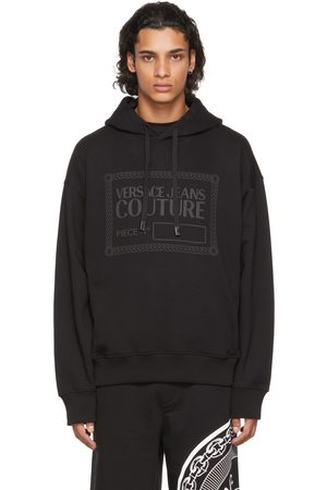 Versace Jeans Couture Black Logo Hoodie