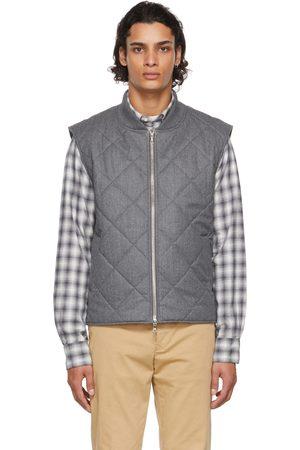 Officine Générale Grey Wool Dave Vest