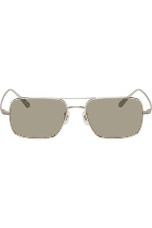 The Row Silver Oliver Peoples Edition Victory LA Sunglasses