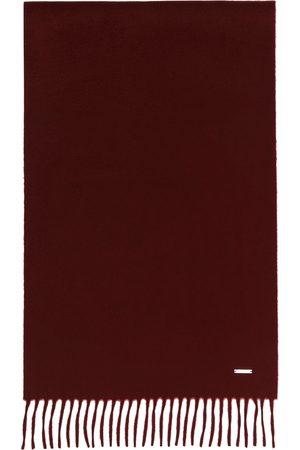 Loro Piana Men Scarves - Red Cashmere Grande Unita Scarf