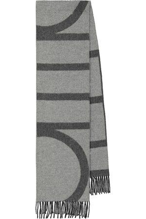 Totême Striped wool scarf