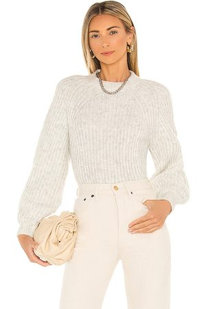 Steve Madden Neck To Normal Sweater in Ivory.