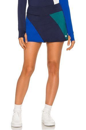 Eleven by Venus Williams Retro Skater Skirt in Navy.