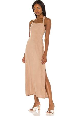 LINE & DOT Delilah Cross Body Back Dress in .
