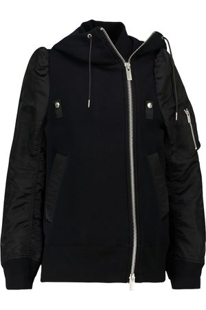 SACAI Cotton-blend bomber jacket