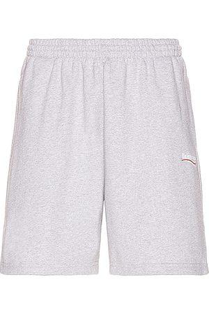 Balenciaga Sweat Shorts in Grey