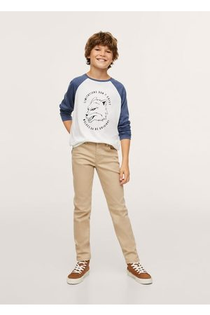 MANGO KIDS Printed long sleeve t-shirt