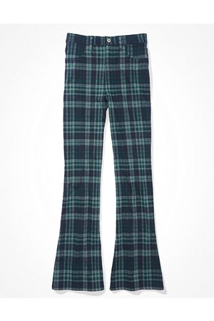 American Eagle Outfitters Stretch Super High-Waisted Flare Pant Women's 2 Long