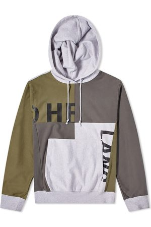 Helmut Lang Men Hoodies - Patchwork Logo Popover Hoody